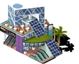 Shopping Solar nivel 1 - dicas cityville
