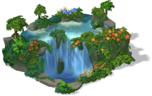 cachoeira do Brasil - dicas cityville
