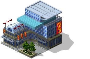 Novidades: Novo centro de convenções!