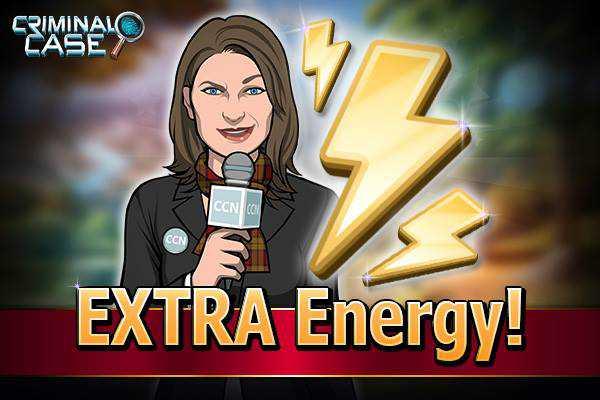 Energia Grátis Criminal Case