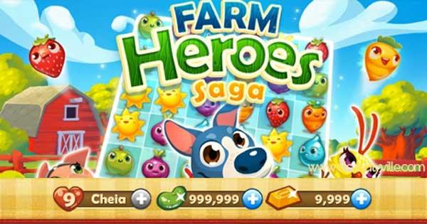 Farm-Heroes-Saga-Feijoes-Magicos-Barras-de-Ouro-Infinitas-e-todos-os-boosters