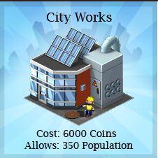 Novo Prédio Comunitário City Works - Dicas CityVille: Novo Prédio Comunitário - City Works