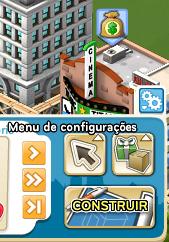 menu de configuraçoes cityville facebook - Como Jogar CityVille com tela cheia