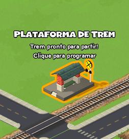 train platform - Guia sobre tudo do jogo CityVille do Facebook em Português!