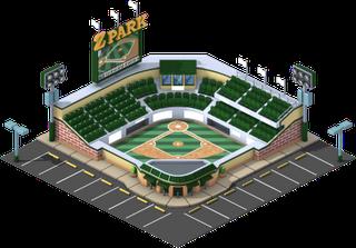 Campo de Beisebol nivel 2 - O Campo de Beisebol vai ter 3 níveis