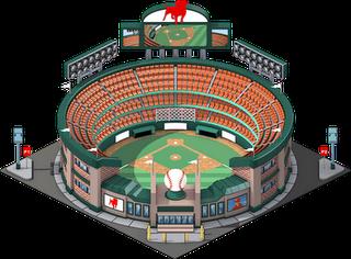 Campo de Beisebol nivel 3 - O Campo de Beisebol vai ter 3 níveis