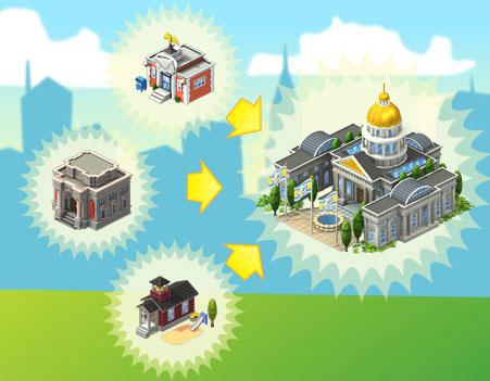 Guia de CityVille Centro de Gobierno - Tutorial Guia do Centro Governamental do CityVille