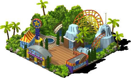 Parque de atrações - nível 1
