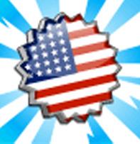 Tampon américain cityville - Material: Carimbos para o passaporte Estados Unidos!