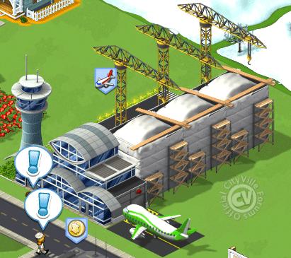 airport7 - Guia Tutorial: Aeroportos e Terminal de Cargas no CityVille