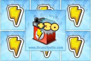 dicas cityville 30 energy - Presente: Energia +3 grátis para CityVille: 17 de Março