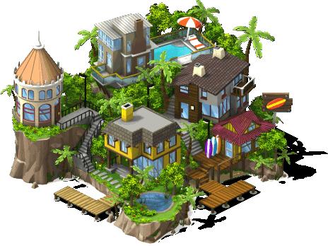 dicas cityville ilha de aloha