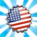selo americano - Material: Carimbos para o passaporte Estados Unidos!