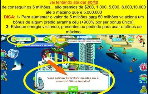 Tutorial: Como Ganhar 50 milhões com o Casino da Ilha da Fortuna!