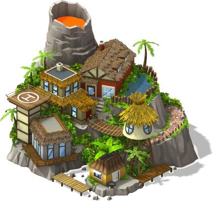 Ilha de rocha vulcanica - Links para pedir os materiais da ilha rocha vulcânica!