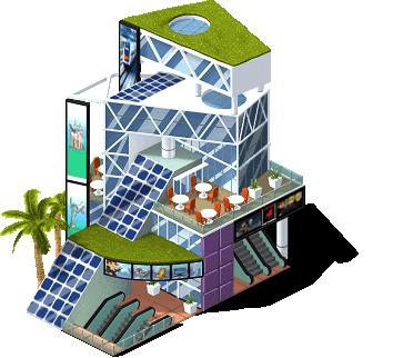 Shopping Solar nivel 2 - dicas cityville