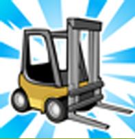 chariot elevateur cityville2 - Materiais: Link para pedir 25 empilhadeiras e 8 crachás de empresas!