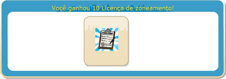 presente licencas de zonemanento gratis dicas cityville - Presente: +10 licenças de zoneamento grátis com um único clique! - 11 de Março