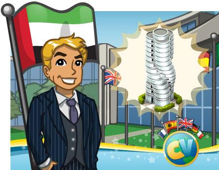 torre rotativa - Novidades: Como conseguir a Torre Rotativa de Dubai!