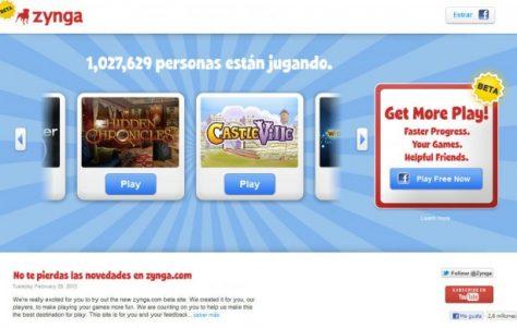 Zynga lança seus próprio portal de jogos fora do Facebook