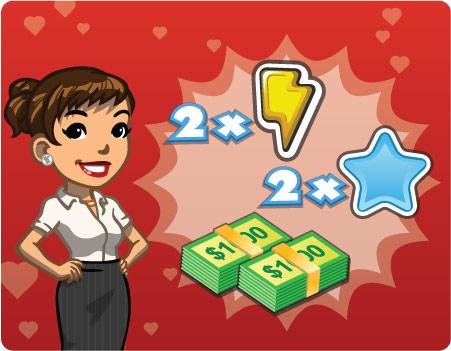 announce playerLove 2Xrewards - Novidades: Saiba como ganhar 10.000 CityNotas e duplicar os pontos de energia e experiência!