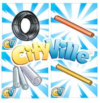 matériaux verrerie cityville - Materiais: Peça os materiais para para desbloquear os itens de vidro!