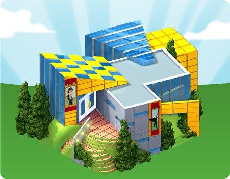 Peça os materiais do novo Centro de Atividades do CityVille