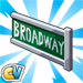 Placa dicas cityville - Materiais e metas dos Shows da Broadway no CityVille !