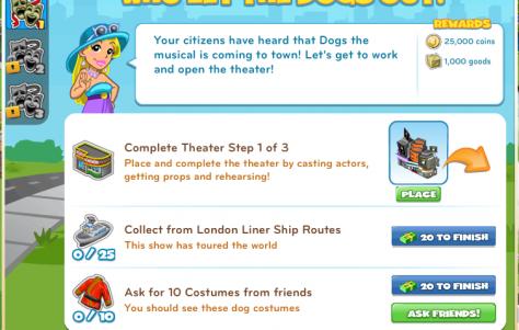 Guia tutorial dos Shows da Broadway do CityVille !