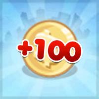 Itens Grátis: Ganhe 100 coins no CityVille – 21 de Junho