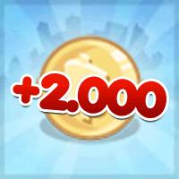 ganhe 2000 coins gratis dicas cityville - Itens Grátis: Ganhe 2.000 coins de presente no CityVille - 23-05-12