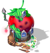 res strawberry house SW - Descobra as novas Moradias fruta no CityVille !