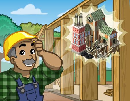 Materiais e metas da nova Fabrica de Carvão do CityVille ! 3