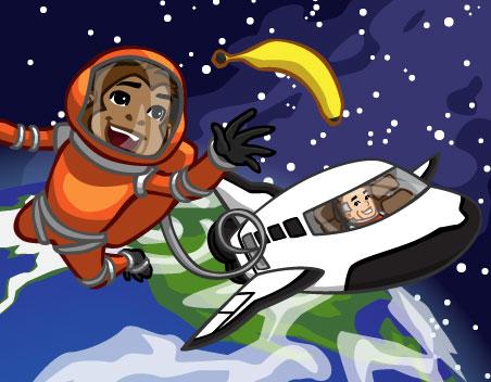 Novidades: O novo Ônibus Espacial do CityVille está chegando !