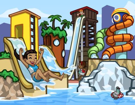 Materiais e metas do Parque Aquático do CityVille 2
