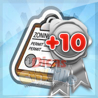 ganhe 10 licencas de zonemamento dicas cityville - Ganhe 10 Licenças de Zoneamento grátis no CityVille - 22 de Agosto
