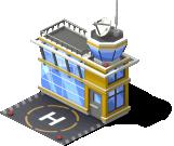 heli mun helicopter port yellow SE - Materiais e Metas dos Helicópteros e o heliporto no CityVille!