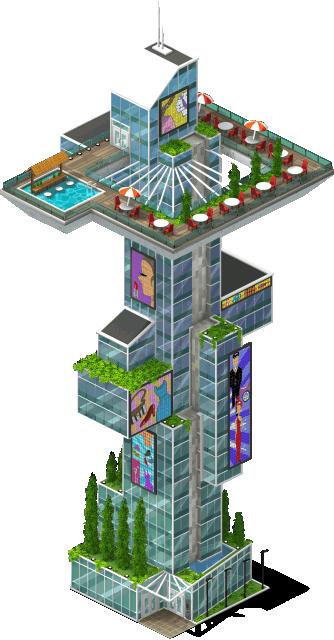 mall skygarden lv3 SW - Peça agora os materiais da nova Torre de Negócios Igualdade + Metas