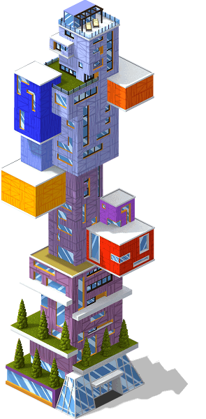 res talles building SE - Novidade: A nova Torre Tetron que oferecerá entre 3200 à 5900 de população !