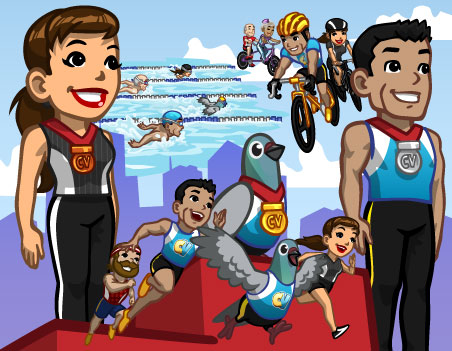 Novidades: Jogos Olímpicos do CityVille !