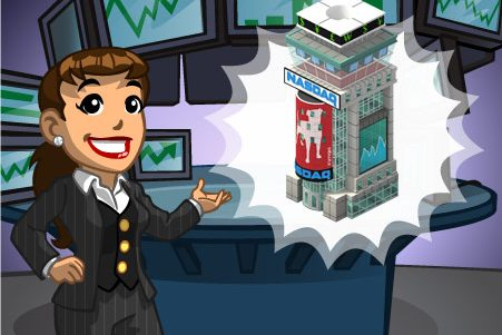 Guia Tutorial: Bolsa de Valores NASDAQ do CityVille !