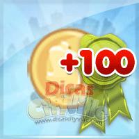 Ganhe 100 moedas grátis de presente no CityVille – 12 de Agosto