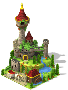 res stone castle SW - Materiais da nova Escola de Detetives do CityVille !