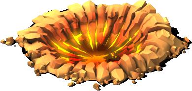 deco meteor crash site SE - Material e meta da zona de impacto do meteorito CV !