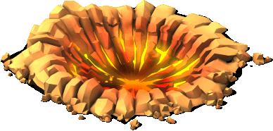 deco meteor crash site SW - Material e meta da zona de impacto do meteorito CV !
