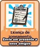 envie um presente a seus amigos dicas cityville - Ganhe 10 Licenças de Zoneamento grátis no CityVille 15-06-13