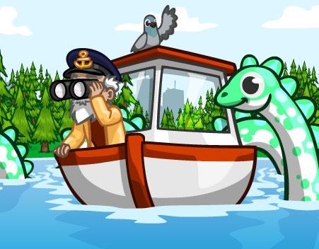 Novidades: O Nessi no Lago do CityVille ! 1