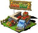 deco farm2 truck lv3 SW - Ganhe itens com a promoção FarmVille 2 no CityVille !