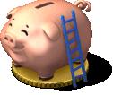 deco piggy bank SW - Novidades: Nova caixa forte cofrinho do CityVille !