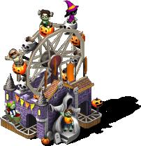 bus ghoulish amusement park SW PKDX - Materiais CityVille: Feliz Halloween ato 3 parte 1 e 2